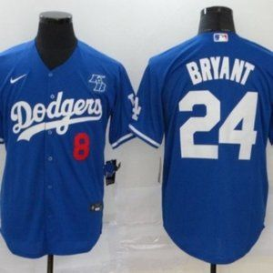 MLB Los Angeles Dodgers Kobe Bryant Jersey24